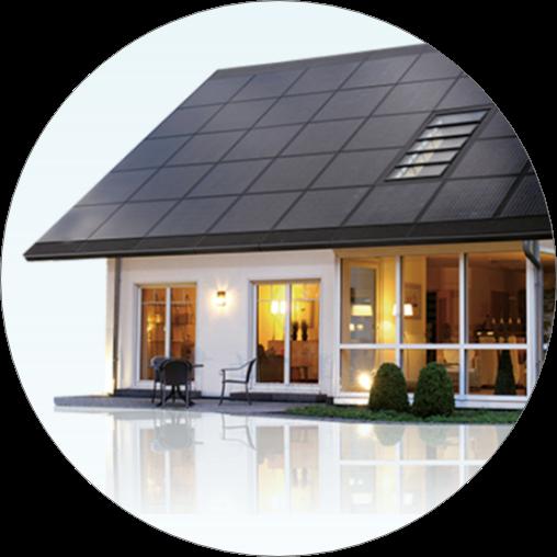 BIPV solcellstak solar roof sunroof